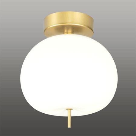 Ekskluzywna Lampa Led Sufitowa Złoto Biała Apple Ce