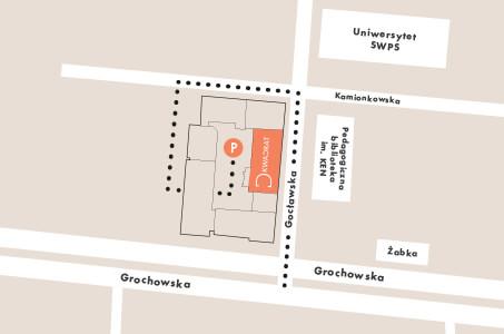 mapa parking