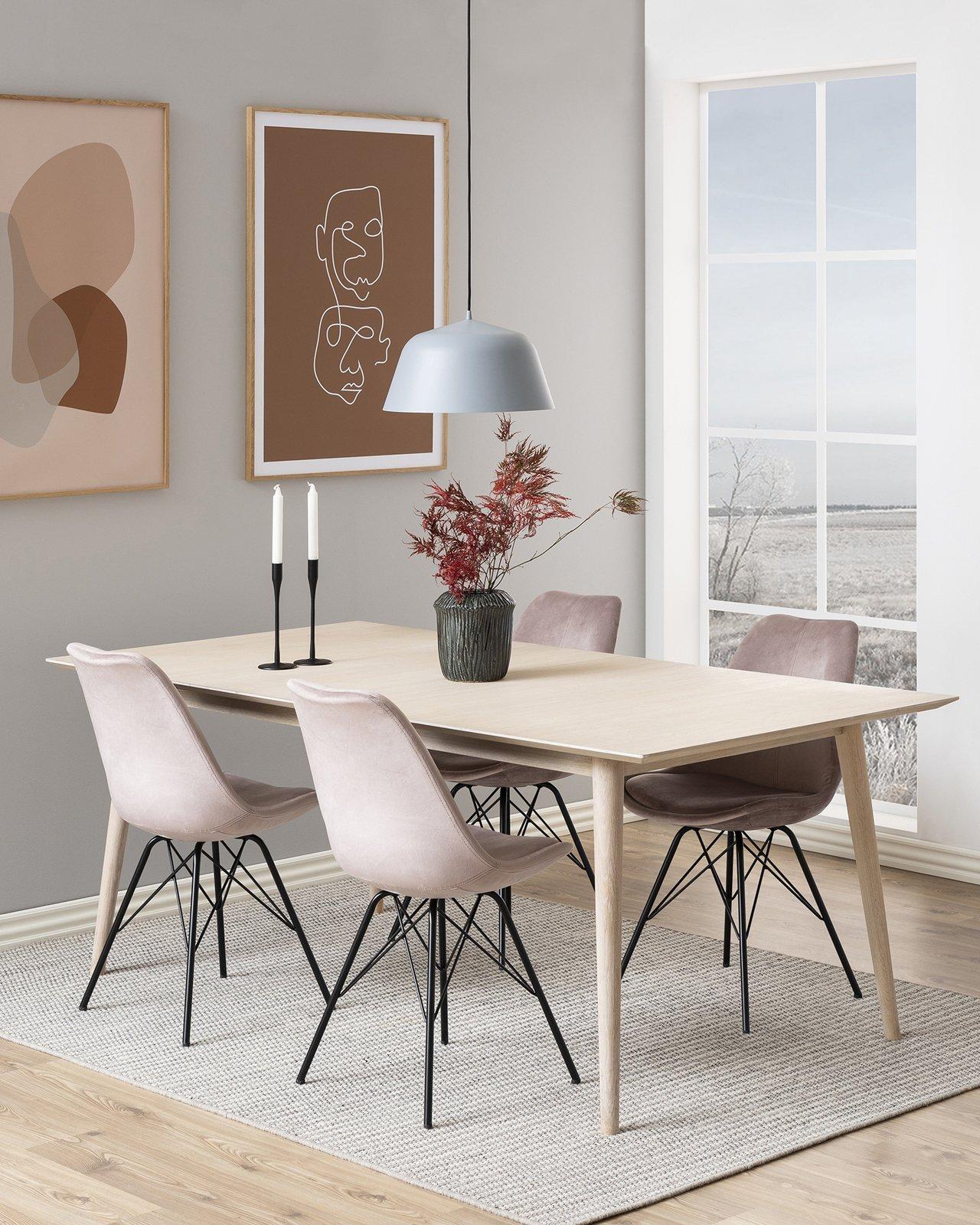 Krzesło Eris Vic Szare
