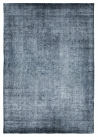Dywan Linen Dark Blue 160x230 Carpet Decor Handmade