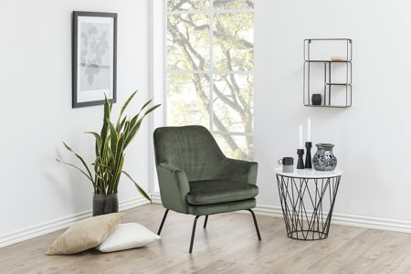 Fotel Chisa VIC Forest Green