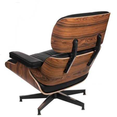Fotel Vip czarny/ rosewood insp. Lounge chair