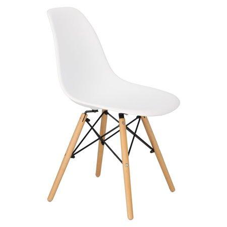 Krzesło Simplet P016w Basic Białe